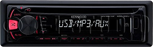 Kenwood KDC-122U CD Receiver with Front USB & AUX