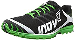 Inov-8 Men\'s Race Ultra 270 P Trail Running Shoe,Black/White/Green,13 M US