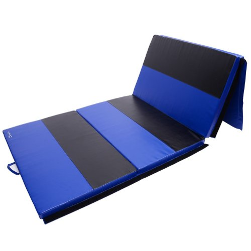 Good Workout Mat: 4 X 10 X 2 Gymnastics Mat Exercise Pad 4 Panel Gym