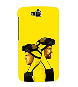 printtech Breaking Heisenberg Bad Back Case Cover for Huawei Honor Holly