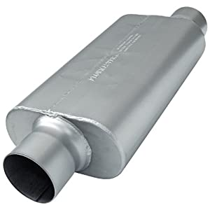 Flowmaster 954056 50 H.D. Muffler - 4.00 Offset IN / 4.00 Center OUT - Moderate Sound