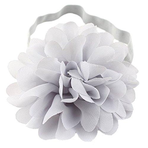 LD DRESS Cute baby elastic headband (Sliver)