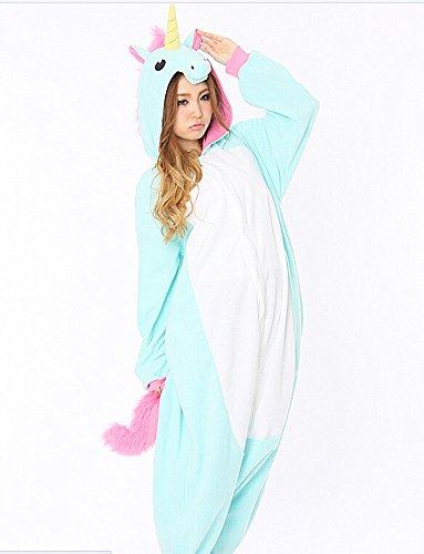 SAMGU Einhorn Adult Pyjama Cosplay Tier Onesie Body Nachtwäsche Kleid overall Animal Sleepwear Erwachsene