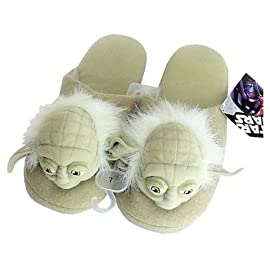 Star Wars Yoda Slippers Large 11/12 Size