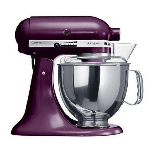 KitchenAid Artisan 5KSM150PSEBY Boysenberry 220 volt
