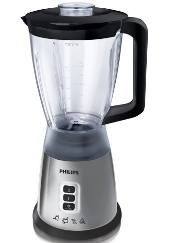 Philips HR2020 50 Silver Blender with 1.75 Litre Jug  400 Watt