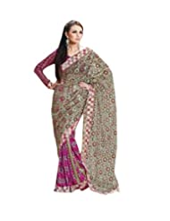 Triveni Designers Inspiration Embroidery Saree-3010