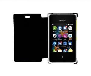 KolorEdge Flipcover for Nokia Asha 500 - Black