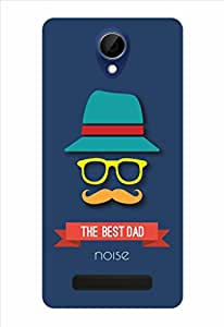 Noise The Best Dad Printed Cover for Gionee Marathon M4