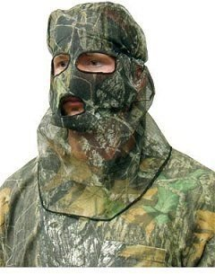 Primos Ninja Mesh Full Hood Face Mask - Mossy Oak New Break-Up