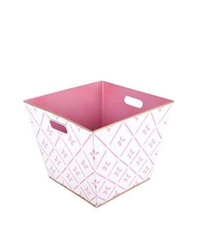 Jayes Flora Storage Bin, Pink