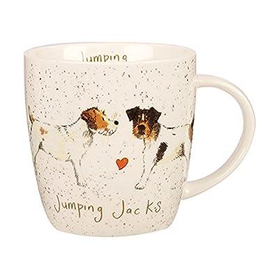 Alex Clark Jumping Jacks Jack Russell Mug