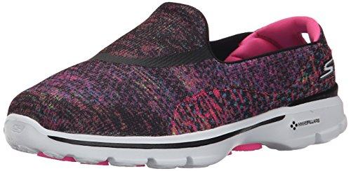 skechers-womens-go-walk-3-glisten-low-top-sneakers-black-bkmt-6-uk-39-eu