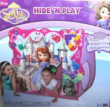 Disney'S Sofia The First ~ Hide N Play ~ Castle Play Hut