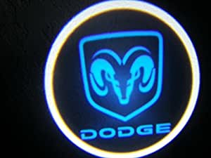 Amazon.com: Dodge Blue Ghost Door Logo Projector Shadow Puddle Laser
