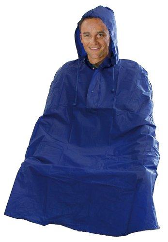 Giacca impermeabile pioggia poncho PVC colori assortiti