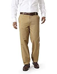 Modo Formal Chinos For Men Khaki Trouser Regular Fit, 100% Cotton Formal Trousers For Men