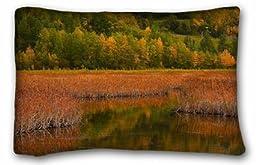 Generic Men\'s Landscapes autumn river grass Trees landscape 20x30 Inch