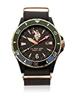US Polo Association Reloj con movimiento Miyota Man USP4440BK 42 mm