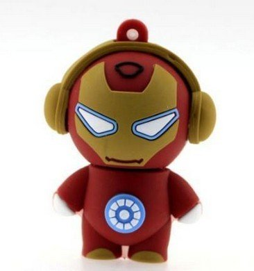 Shopping!: PENDRIVE IRON MAN 8GB MEMORIA USB PEN DRIVE FLASH DRIVE (enviado directamente desde España / shipped directly from Spain)