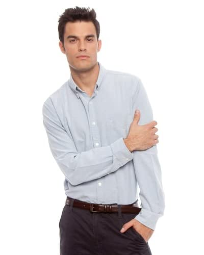 Dockers Camisa Oxford Azul