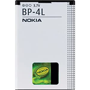 Nokia BP-4L Standard Battery for Nokia N97, E63, E71, E71x, E72, E73, E90, N810, and WiMax