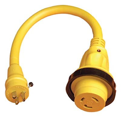Marinco 104SPPRV Adapter with Led Indicator