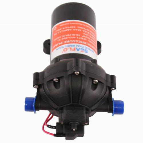 Sanven 5 5gpm 60psi 12v Dc Diaphragm Water Pump Garden