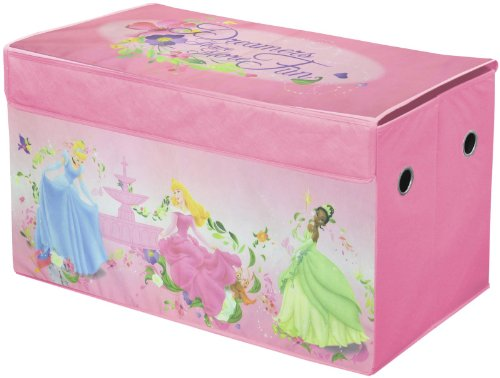 Princess Toys Box Storage Kids Girls Chest Bedroom Clothes: Dress Up Clothes Little Girls Love Best
