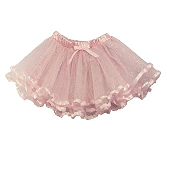 Baby Girls Dancewear Light Pink Ribbon Tutu 18M