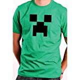 Apparel & Shoes Online Shop Ranking 5. CREEPER from Minecraft T-Shirt YOUTH MEDIUM SHIRT