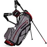 Sun Mountain Golf 2014 Superlight Three5 Stand Bag Grey/Black/Red