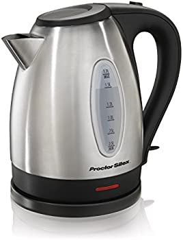 Proctor Silex 1.7L Stainless Steel Electric Kettle