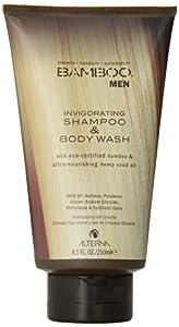 Alterna Bamboo Men Invigorating Shampoo and Body Wash Men Shampoo and Body Wash, 8.5 Ounce