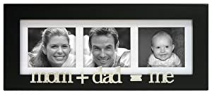 Momdadme Wood 3 Opening Picture Frame Collage For 3x3 from Malden