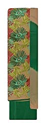 Neel Women's Cotton Unstitched Salwar Suit (Brown and Green)