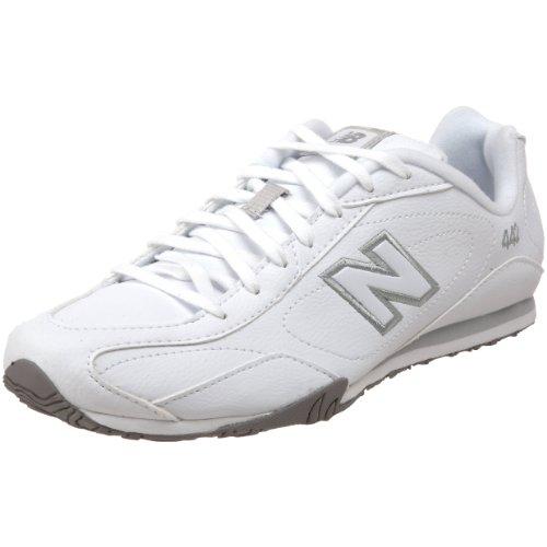 New Balance Women'S Cw442 Classic Sneaker,White/Silver,9 B(M) Us