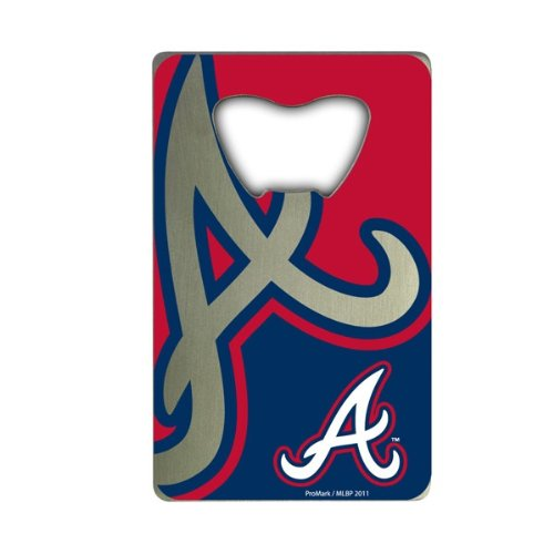 MLB Atlanta Braves Credit Card Style Bottle Opener at Amazon.com