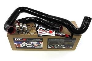 03-07 Ford F450 Superduty 6.0L Diesel HPS 3-Ply Silicone Radiator Hose Kit Coolant Black