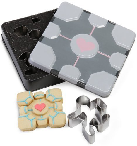 Portal 2 Cookie Cutters
