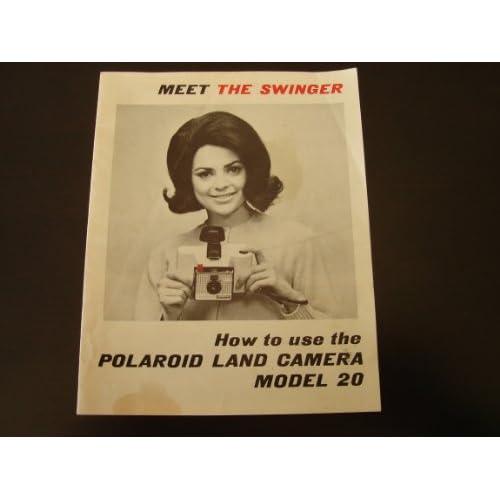 Polaroid Land Camera Owners Manual   model 20 Polaroid Corporation