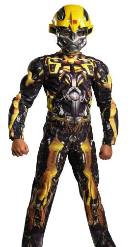 Disguise Inc Boys' Transformers Bumblebee Classic Muscle Costume