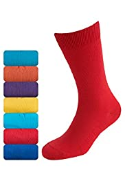 7 Pairs of Cotton Rich Freshfeet&#8482; Socks with Silver Technology