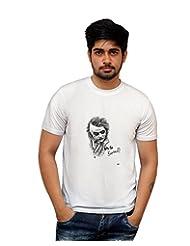PosterGuy Joker Batman Comic Series Fan Art White Graphic Illustration Sketch T-Shirt