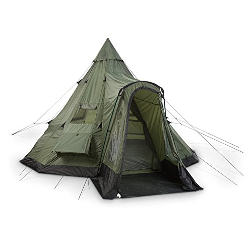 Guide gear deluxe teepee tent 14 x 14 discount tents sale for Cheap wall tent