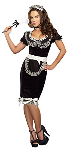 Dreamgirl Costumes Women's Plus-Size Keep It Clean