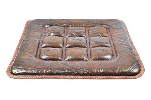 Sedie Da Ufficio In Pelle : Cuscino protettiva in pelle universale per auto antiscivolo per