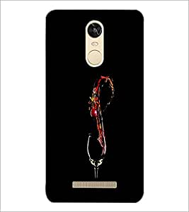 PrintDhaba Drink D-1220 Back Case Cover for XIAOMI REDMI NOTE 3 PRO (Multi-Coloured)