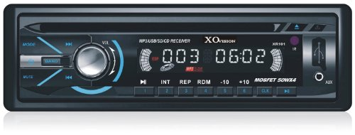Xo Vision Xr101 Mp3 Cd Receiver With Usb Port & Sd Card Slot