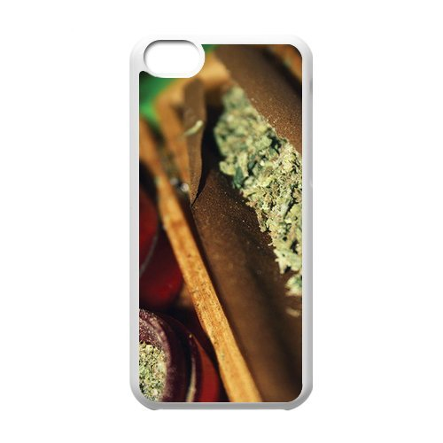 Generic Mobile Phone Cases Cover For Apple Iphone 5C Case Country American Flag Marijuana Cannabis Weed Hemp Leaf Smoker Design Custom Made Hard Snap On Cell Phones Shell Protect Skin